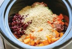 Membuat Dog Food(Makanan Anjing) Mengunakan Slow Cooker